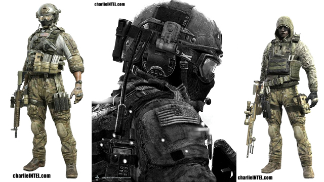 Assault, SMG, LMG, Shotgun, Sniper CLASSES & NEW IMAGES from