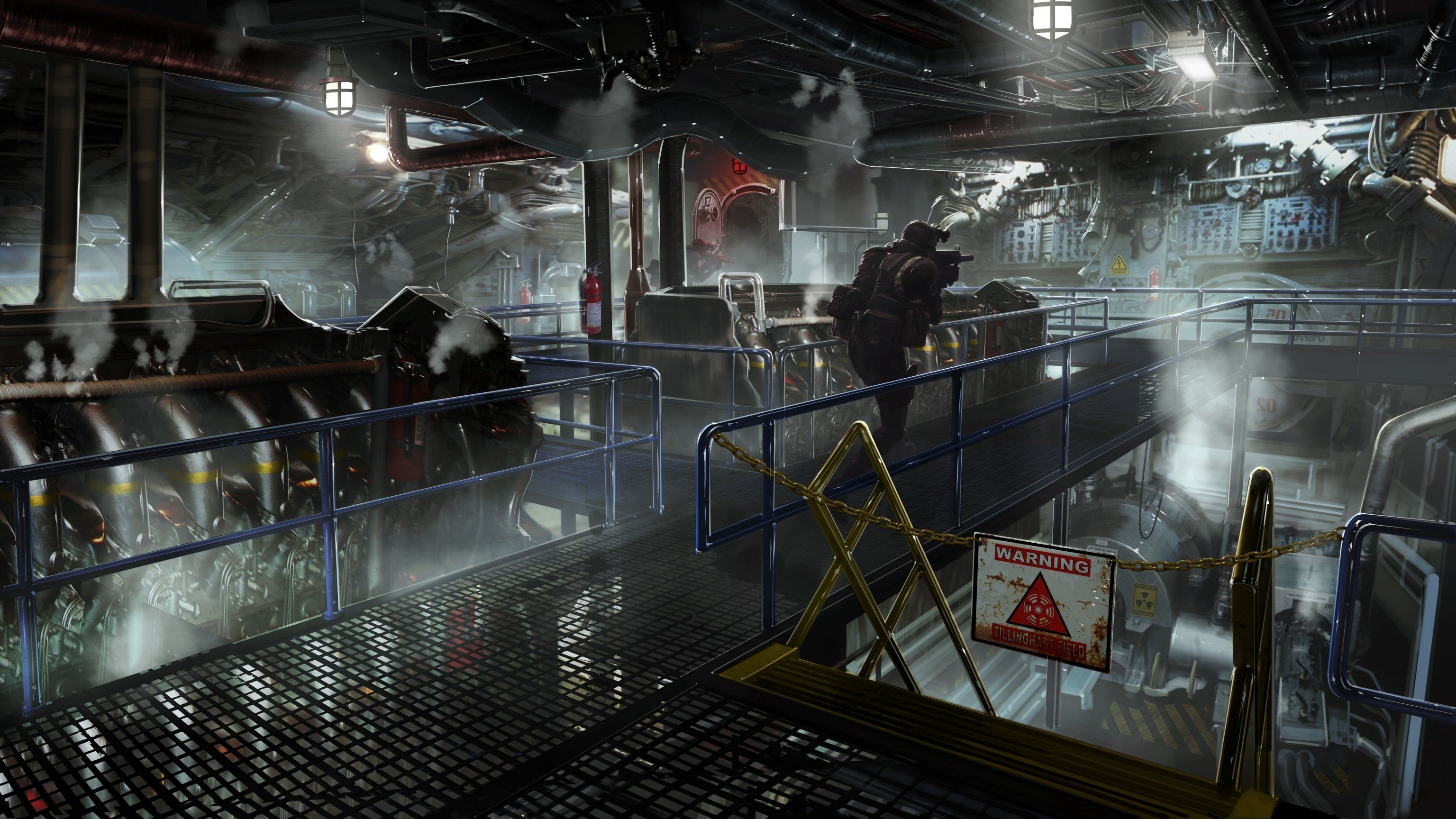 Free Floor Plan Creator For Pc New Mw3 Concept Art Quot Engine Room Quot Charlie Intel