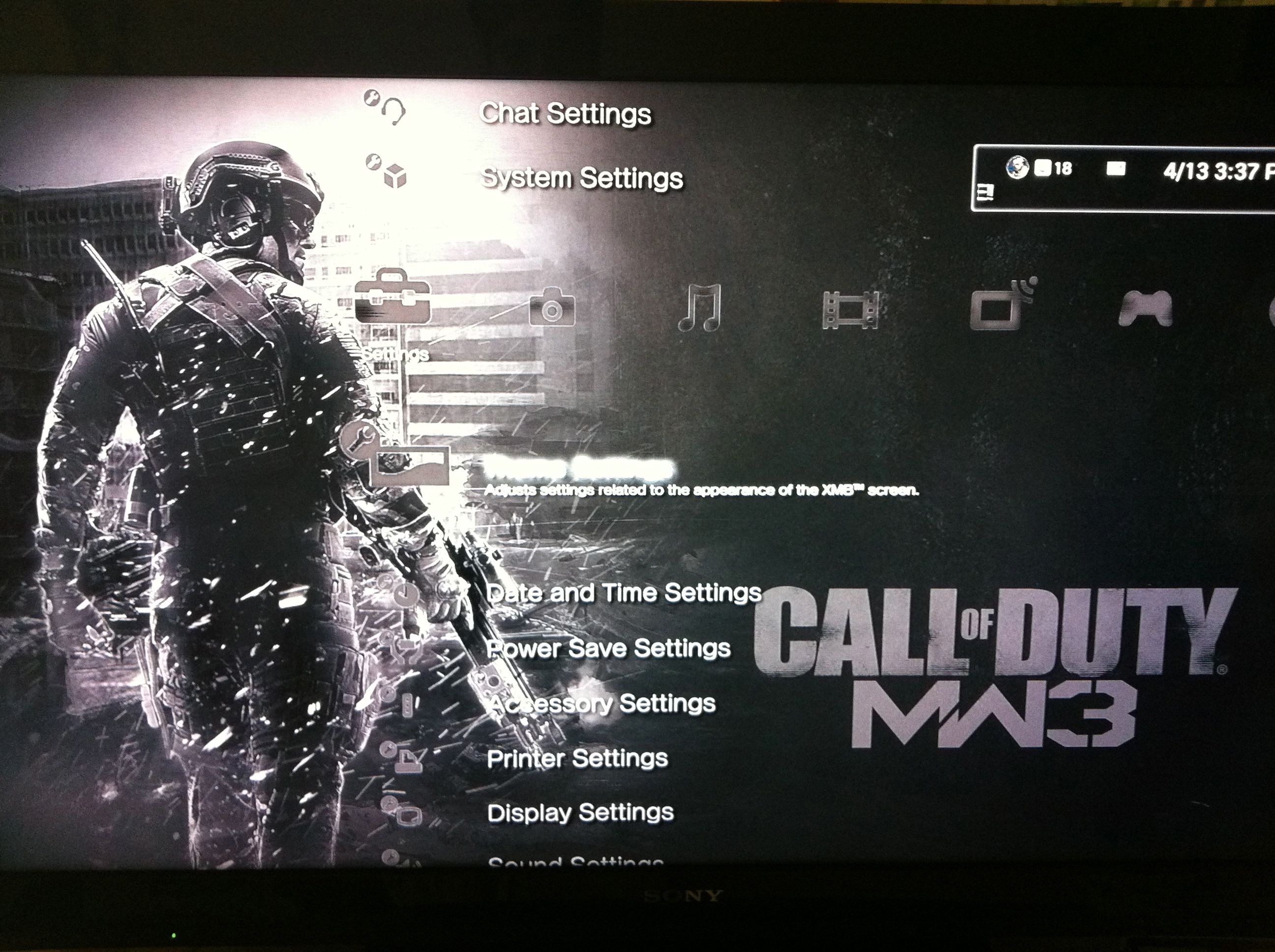 New MW3 Collection 1 THEME for PS3 | Charlie INTEL
