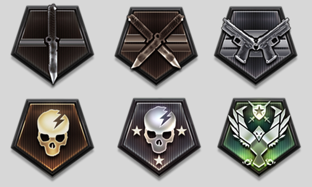 Call of duty ghosts prestige badges and patches