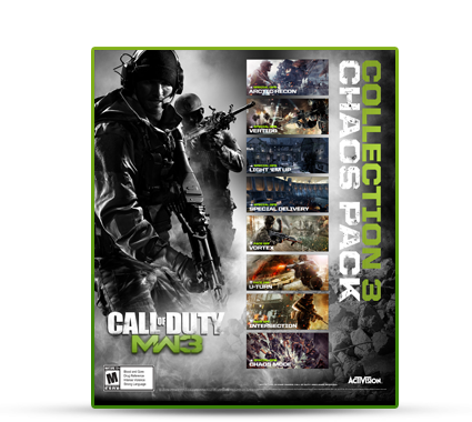 MW3 Collection 3 Chaos Pack available now on PS3/PC