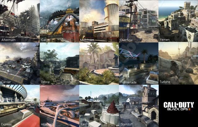 All (14) Black Ops 2 MP Maps Loading Screen IMAGES   Charlie INTEL Call Of Duty Black Ops Maps on