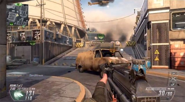 FOV capped at 80 due to technical limitations on Black Ops 2
