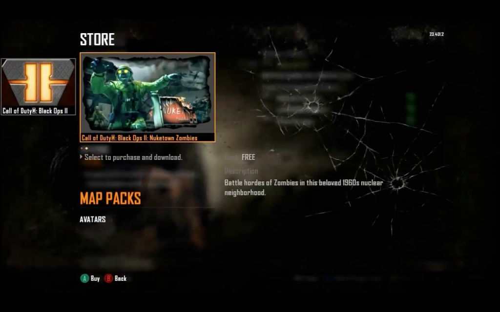Nuketown Zombies available TOMORROW (December 12th) for Xbox ... on call of duty nuketown zombies ps3 cheats, black ops 2 nuketown 2025 map, black ops kino der toten map, black ops zombies transit map, on black ops 2 nuketown zombie map, black ops 2 zombies tranzit map, exo call of duty zombies outbreak map, black ops first strike zombie map, bo2 origins map, cod black ops 2 origins map, black ops 2 zombies buried map, call of duty advanced warfare 2 zombies map, call of duty zombie map names, cod bo2 nuketown zombies map,