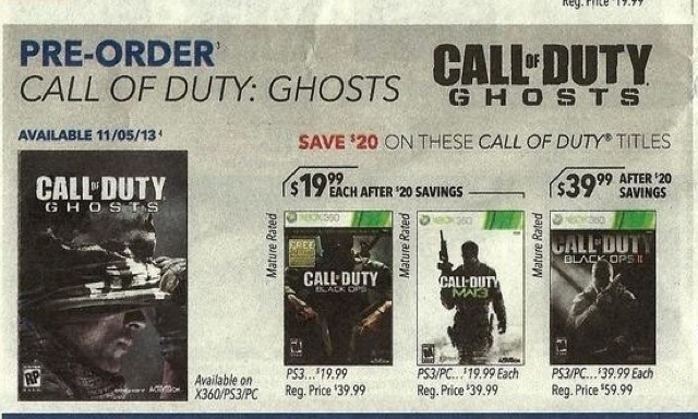 Best Buy Ad reconfirms November 5th release for Call of Duty ...
