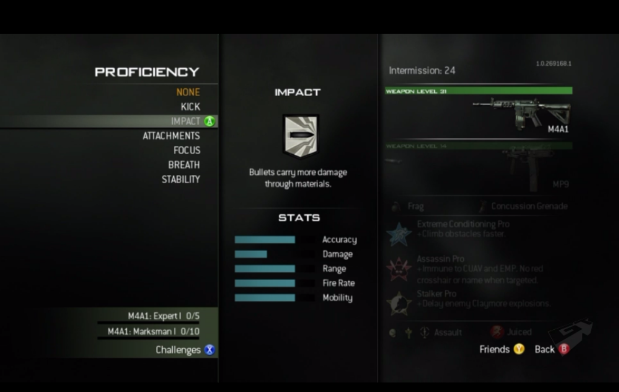 Mw3-proficiency