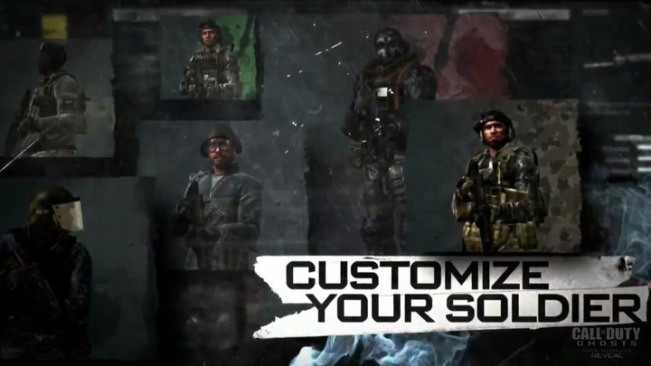 Call Of Duty Ghosts Character Customization Fully Detailed Over
