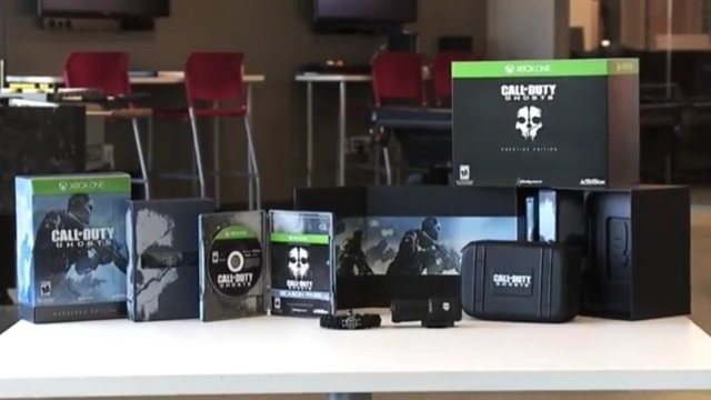 ghosts xbox one collectors edition unboxing video