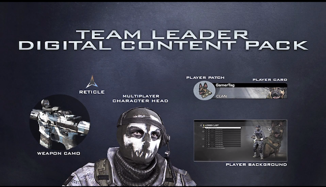 Ghosts S Season Pass Team Leader Pack And Collector S Ediiton