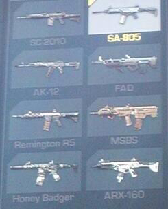 All Guns And All 13 Weapon Camos For Call Of Duty Ghosts Charlie Intel
