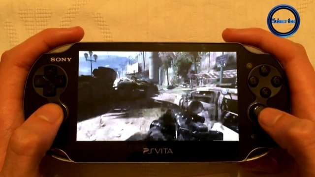 Playstation Vita Call Of Duty : Ps call of duty ghosts running on the vita remote