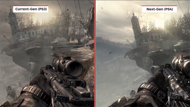 Ghosts Current Gen Vs Next Gen Video Charlie Intel