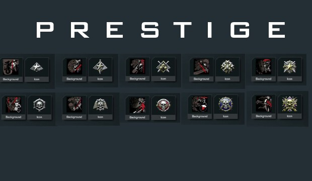 All cod emblems these might be the prestige emblems found in call of
