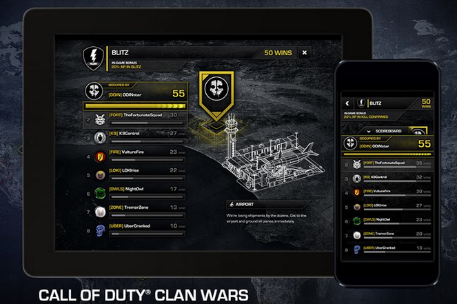 Call of Duty: Ghosts Clan Wars have begun; divisions and ...