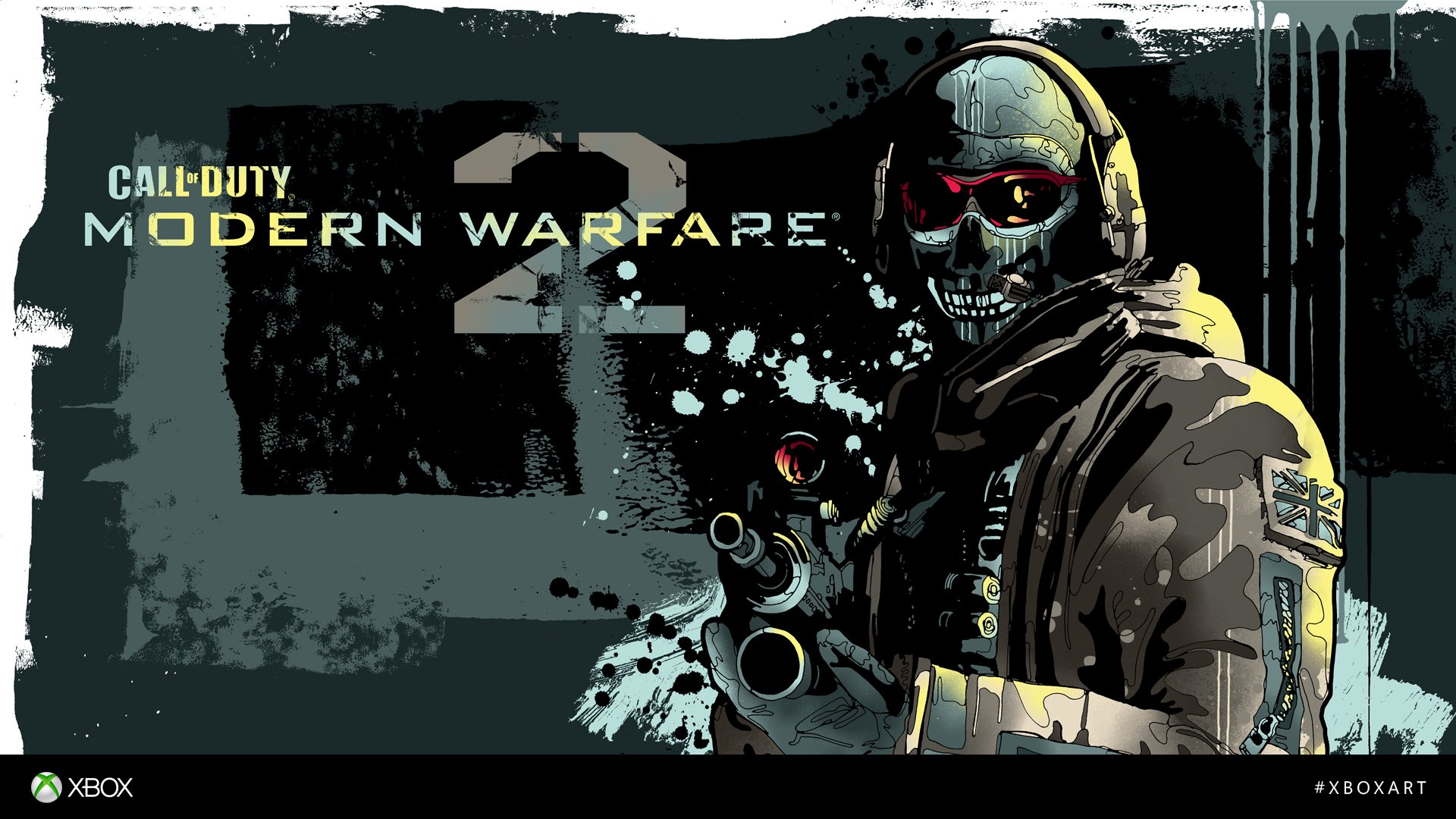 Modern Warfare 2 and Black Ops 2 Fan Art from Xbox Art contest ...