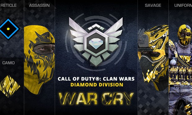 Call of Duty Clan War Diamond Division Achievements revealed ...