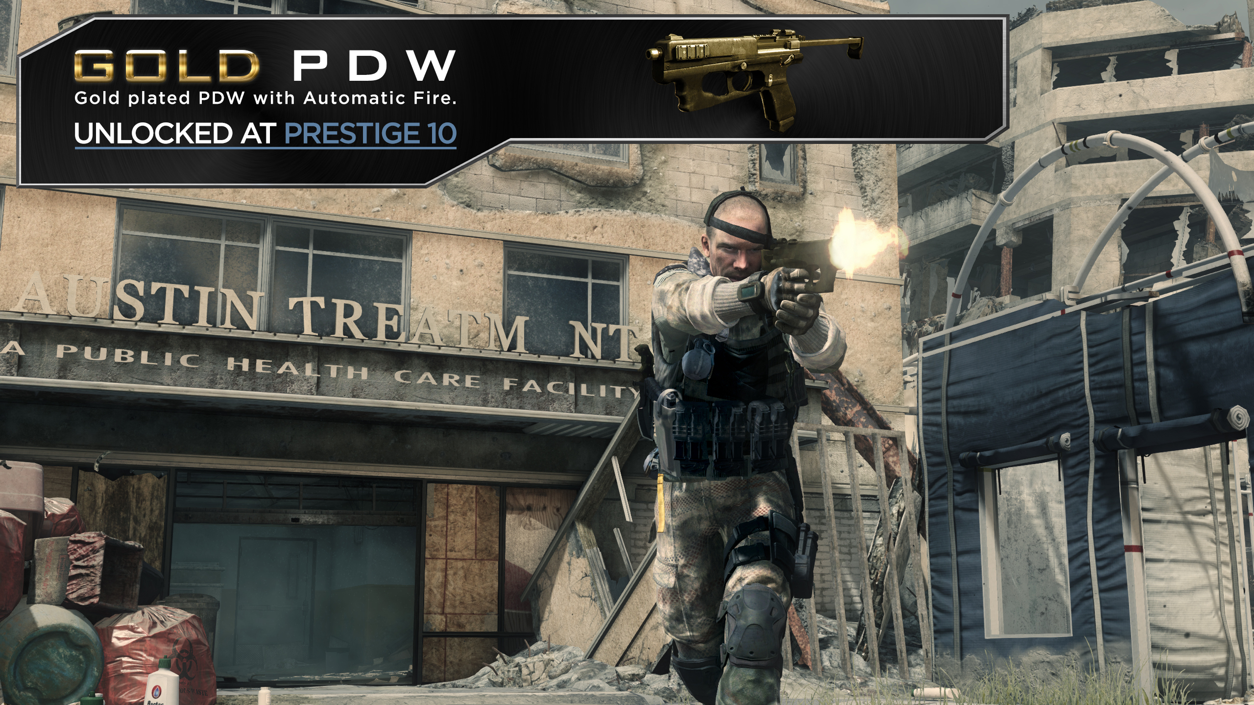 Be available to those who are 10th prestige in call of duty ghosts