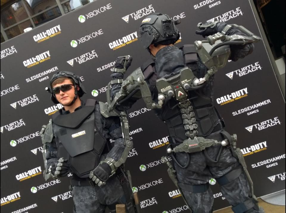 Live stream of call of duty advanced warfare multiplayer reveal