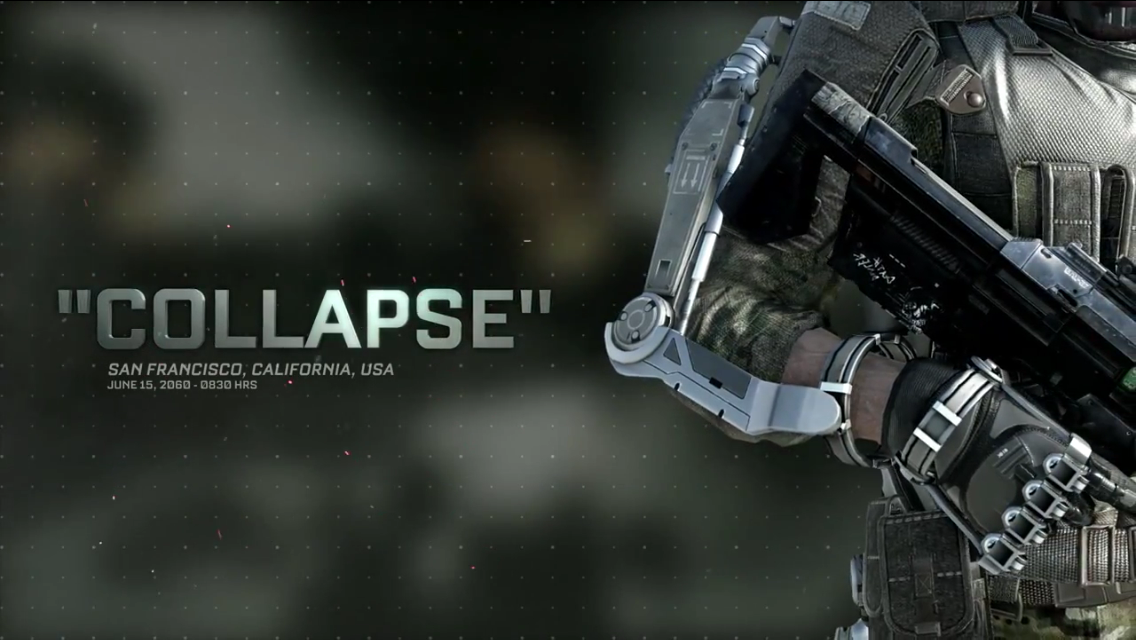 Official Call Of Duty Advanced Warfare Collapse Singleplayer Gameplay Video Charlie Intel