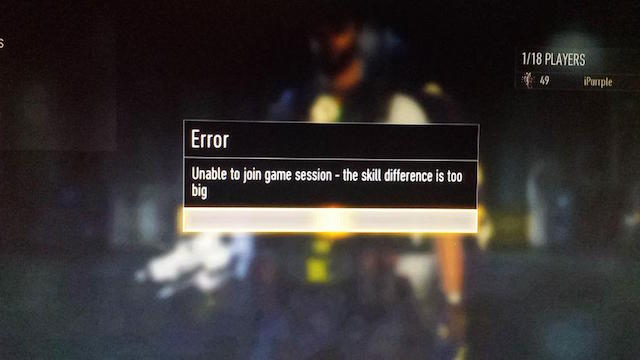 Advanced warfare remove skill based matchmaking