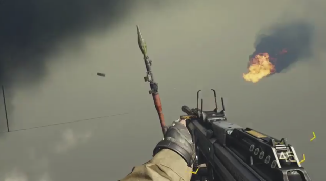 Hidden RPG weapon found in a campaign mission in Advanced Warfare   Charlie  INTEL