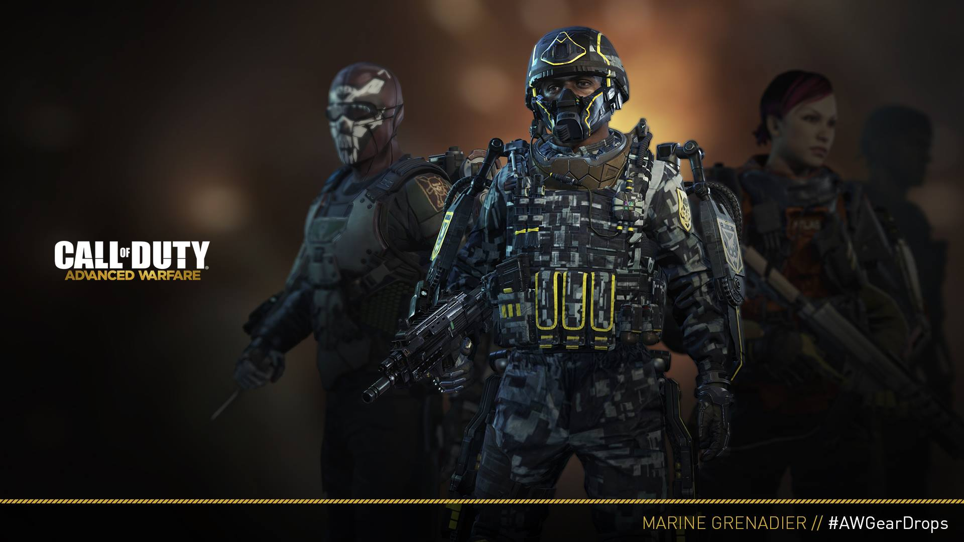Call of Duty: Advanced Warfare - Panda Exoskeleton Pack 2015 pc game Img-3