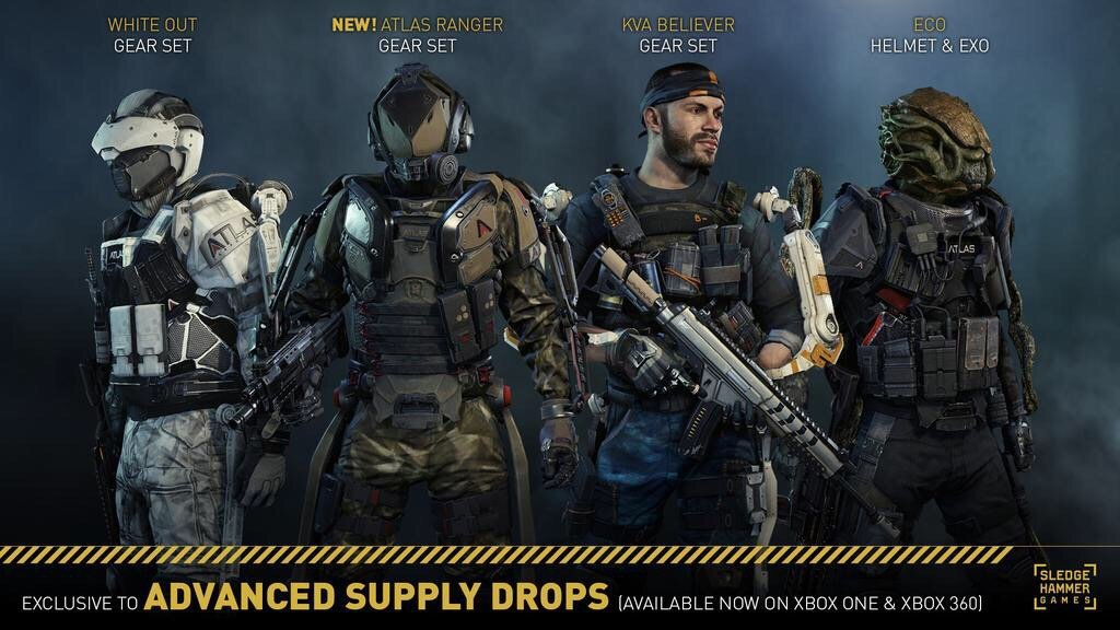 Atlas ranger gear set available in advanced supply drops rotation