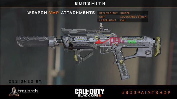 Some New Black Ops 3 Weapons That Are Part Of The Gunsmith System Were Still Trying To Obtain Source Images So Stand By For More Info