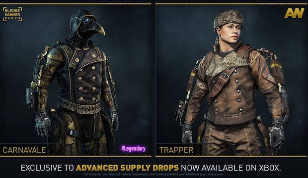 Has announced that new gear sets for call of duty advanced warfare
