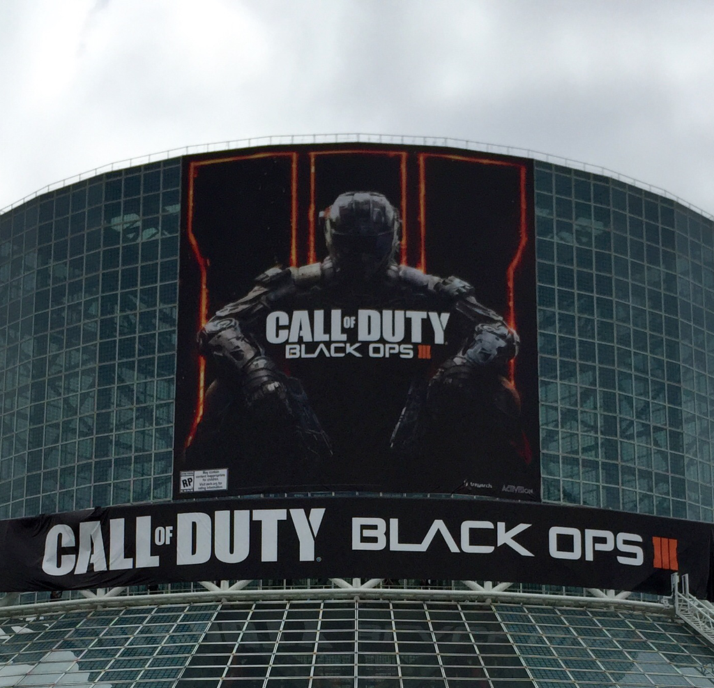 Black Ops 3 Poster Is Front And Center At LA Convention