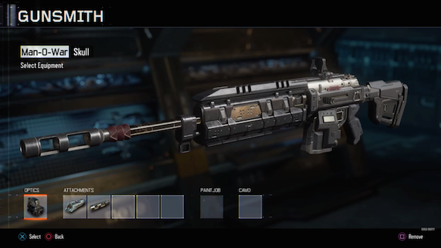 Call Of Duty Black Ops 3s Gunsmith Will Feature Social Sharing Abilities