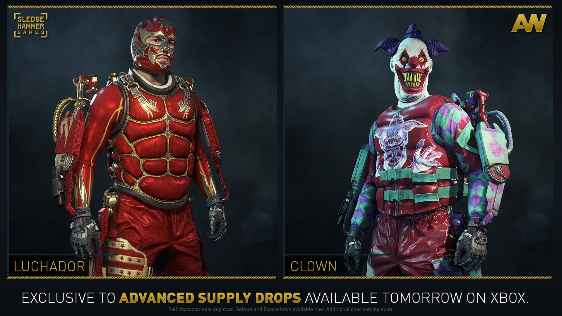 Five new gear sets now available in advanced supply drops on xbox