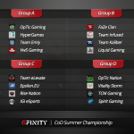 CoD Summer Championship Groups Red Web