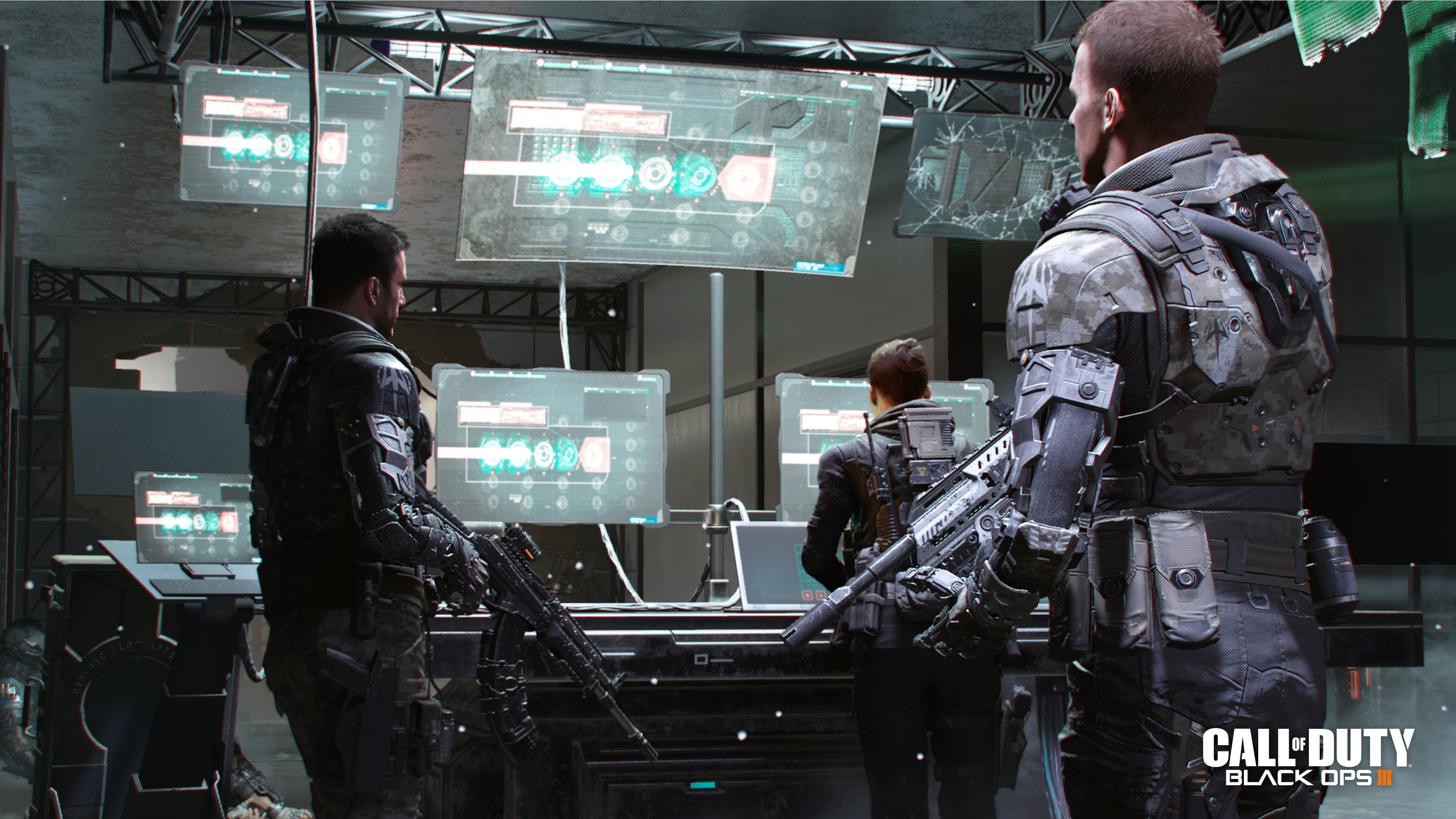 Black Ops 3 S Campaign Safehouse Features A Training Sim For