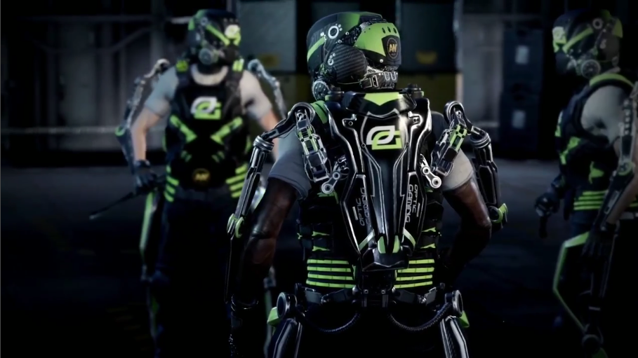 OpTic Gaming Gold Character Gear Set for Advanced Warfare