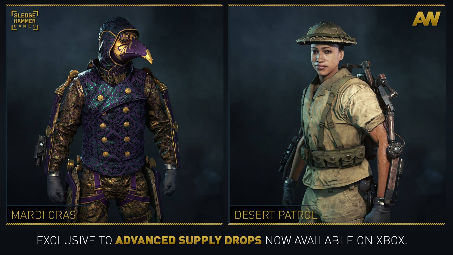 New gear sets for Advanced Warfare now available in Advanced Supply Drops  on Xbox  8fee91fae4