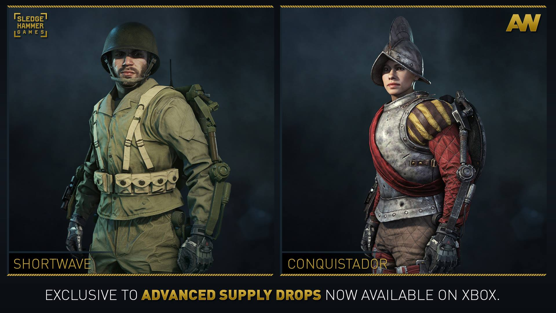 New gear sets for Advanced Warfare now available in Advanced Supply ... cc81af721e