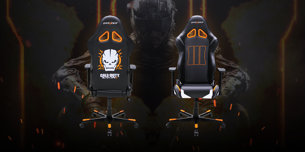 Dxracer Introduces New Official Black Ops 3 Designed Chair
