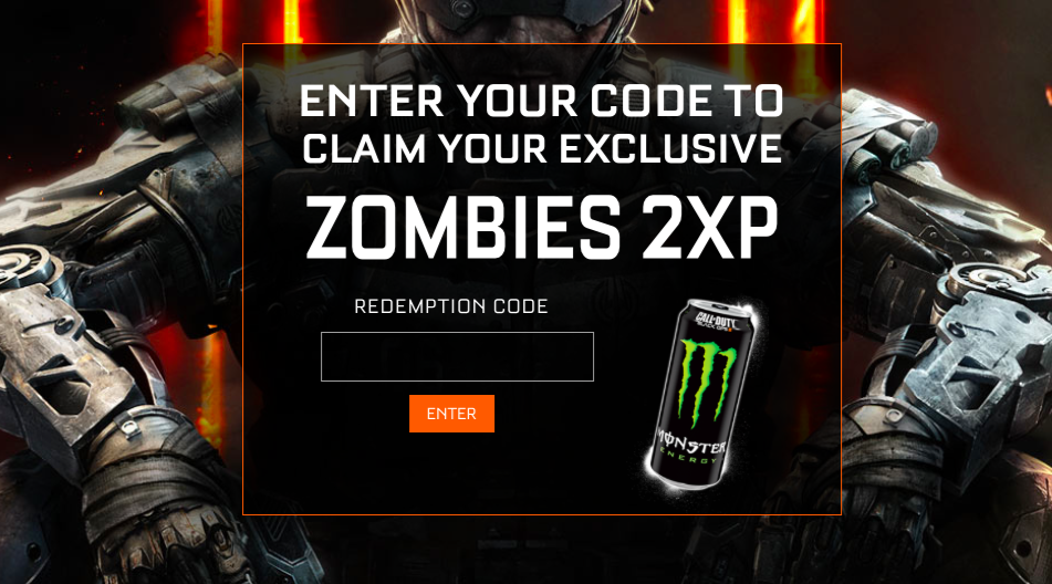 Monster Energy Promotion for Black Ops 3 Zombies now live ...