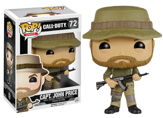 Call of Duty POP! Vinyl Figures coming later this year | Charlie INTEL