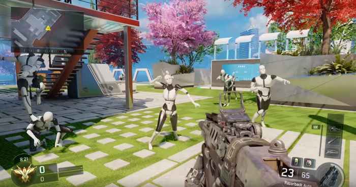 Nuk3town MP Easter Egg turns all Mannequins into Zombies | Charlie ...