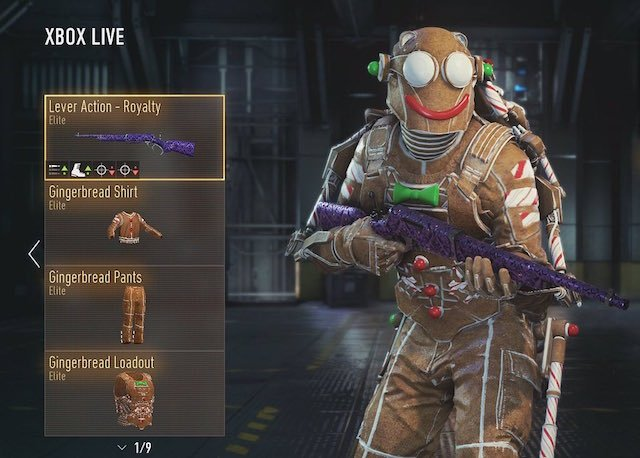 New weapons and gear sets for advanced warfare now available on xbox