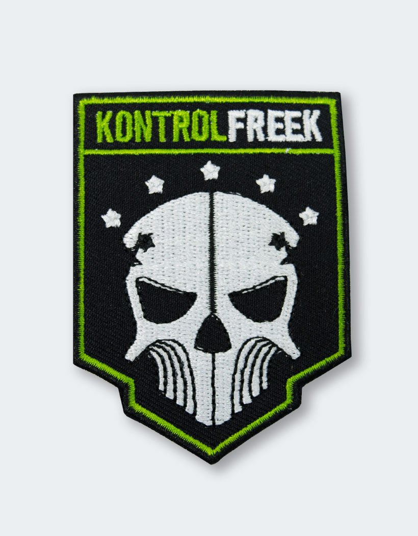 Exclusive Fabric Patch Emblazoned With The Familiar KontrolFreek Phantom Skull Is Only Available In Call Of Duty Black Ops III Collection
