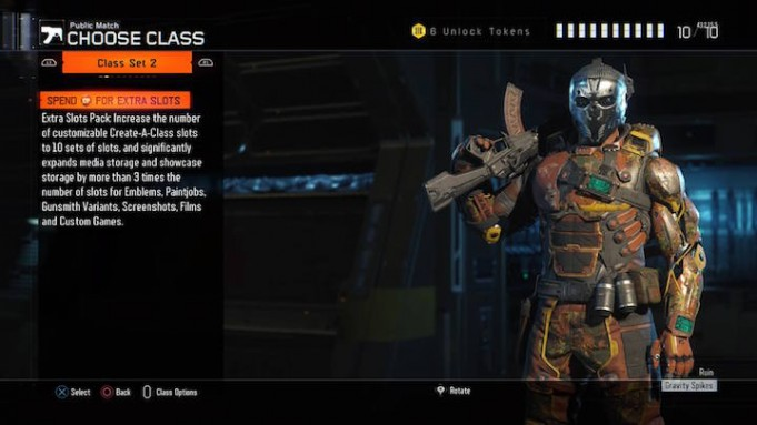 With The Launch Of Call Duty Points In Black Ops 3 Treyarch Has Added Ability To Buy Extra Slots Pack Gives Players 10 Sets