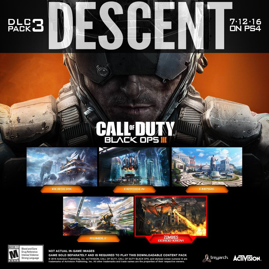 Call of Duty: Black Ops 3 Descent DLC Pack 3 available July ... Call Of Duty Black Ops Map Packs on call of duty ghosts maps, black ops 1 map packs, all black ops map packs, call duty black ops 3, call of duty blackops 2, call of duty mw3 map packs, call of duty advanced warfare maps, black ops ii map packs, call duty black ops zombies all maps, call of duty bo2 map packs, black ops 2 dlc map packs, call duty ghost multiplayer, call of duty 2 guns, call of duty apocalypse trailer, call of duty 3 zombies maps, bo2 dlc map packs, call of duty all zombie maps, call of duty 2 multiplayer maps, gta map packs, all 4 bo2 map packs,