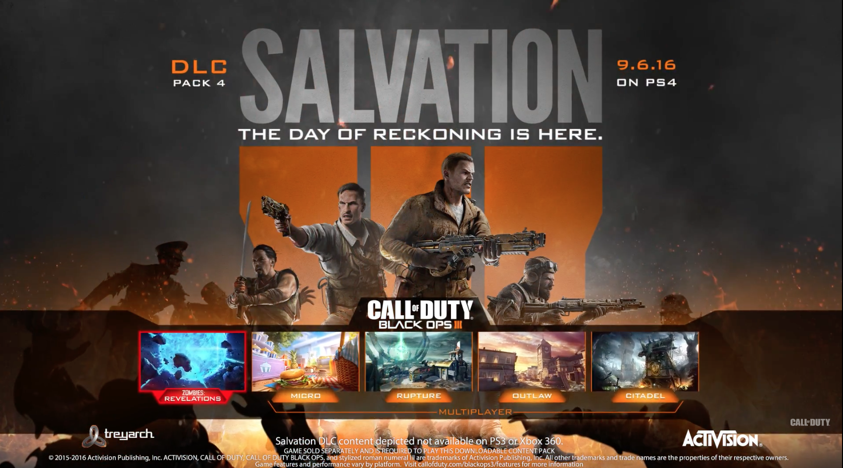 Call Of Duty Black Ops Salvation DLC Pack Available September - All of us remastered bo3 zombies maps