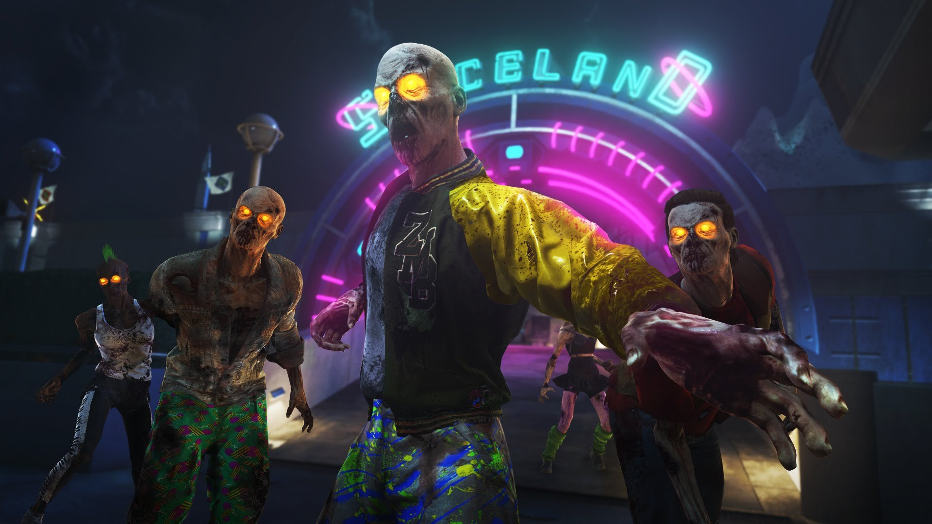 Call Of Duty Infinite Warfare Zombies In Spaceland Reveal - Call duty exo zombies trailer looks epic