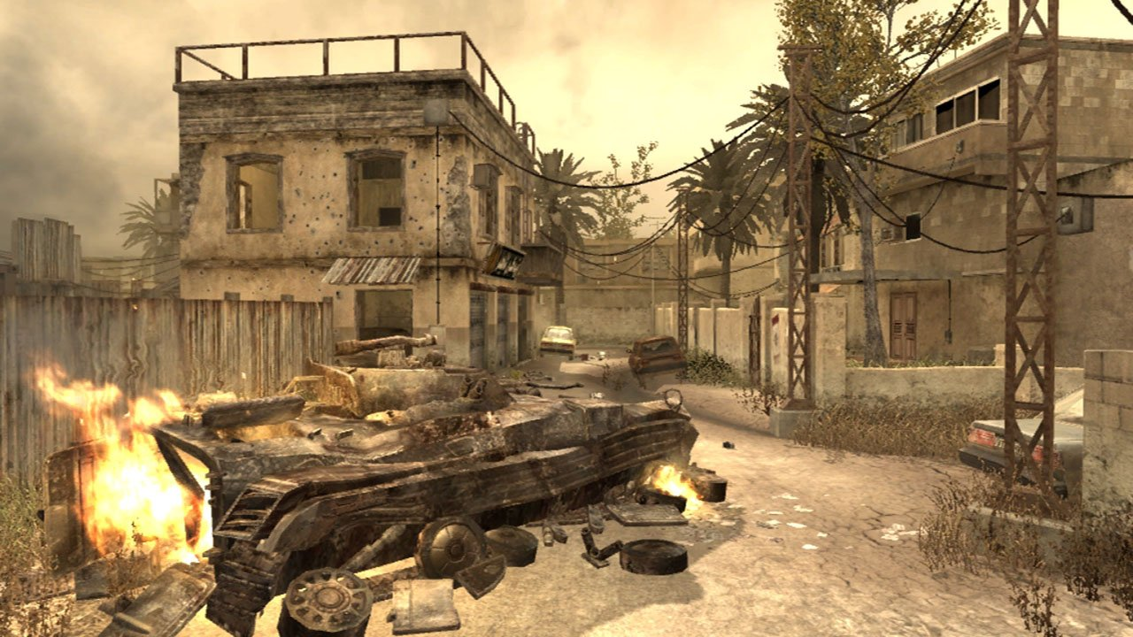 Call of Duty 4 Modern Warfare Multiplayer Maps