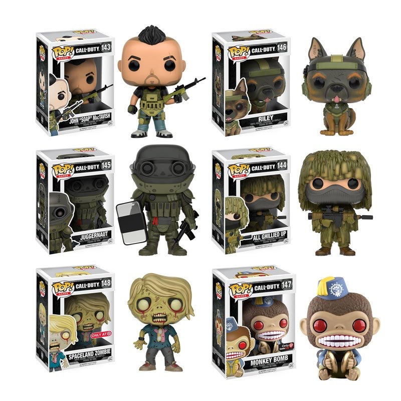 New Call Of Duty Pop Figures Coming November Charlie Intel