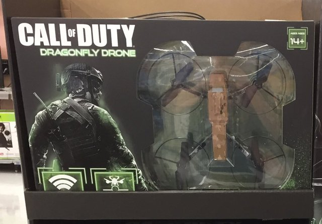 Call Of Duty Dragonfly Drones Found At Walmart Retails For 99